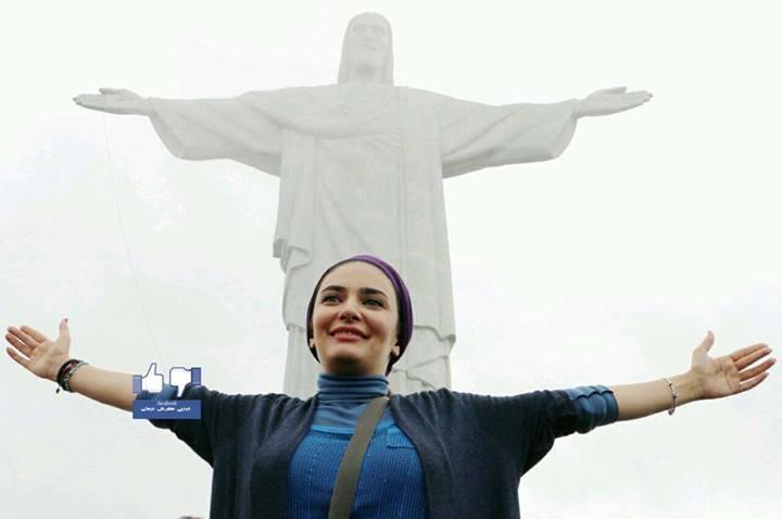 لیندا کیانی مجسمه معروف برزیل